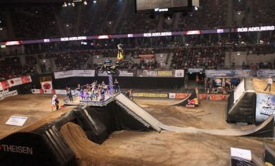 Night of the Jumps Mannheim 2014.