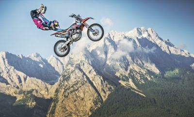 Luc Ackermann Red Bull X-Fighters Zugspitze.