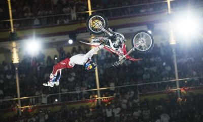Red Bull X-Fighters Pretoria 2014.